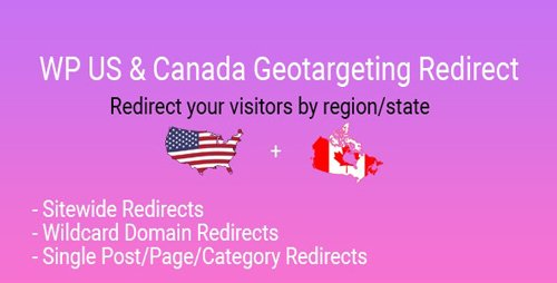 CodeCanyon - WP US&Canada State Geotargeting Redirect v1.0 - 27838092