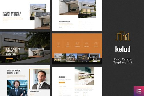 ThemeForest - Kelud v1.0 - Real Estate Template Kit - 27818225