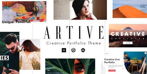 ThemeForest - Artive v1.0.0 - Creative Portfolio Theme - 25174370