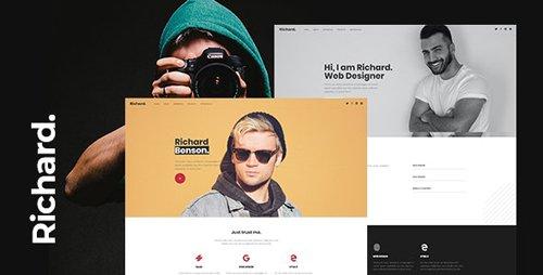 ThemeForest - Richard v1.0 - Onepage Personal WordPress Theme - 26674171