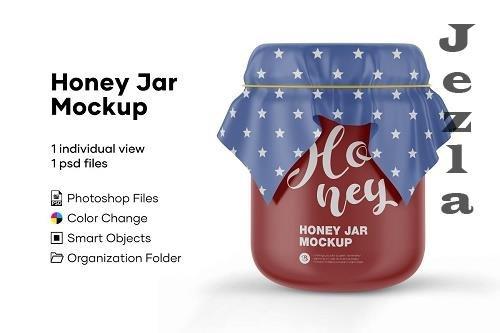 Honey Jar Mockup 5175585