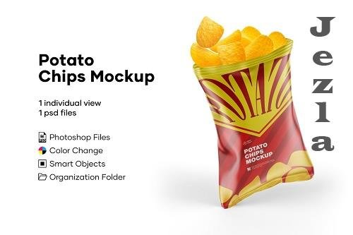 Potato Chips Mockup 5224073