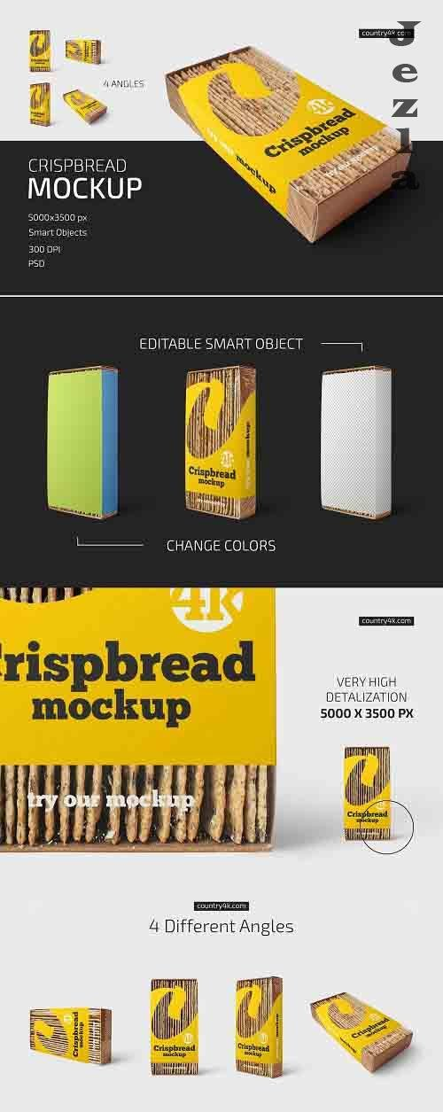 Crispbread Mockup Set 5252731