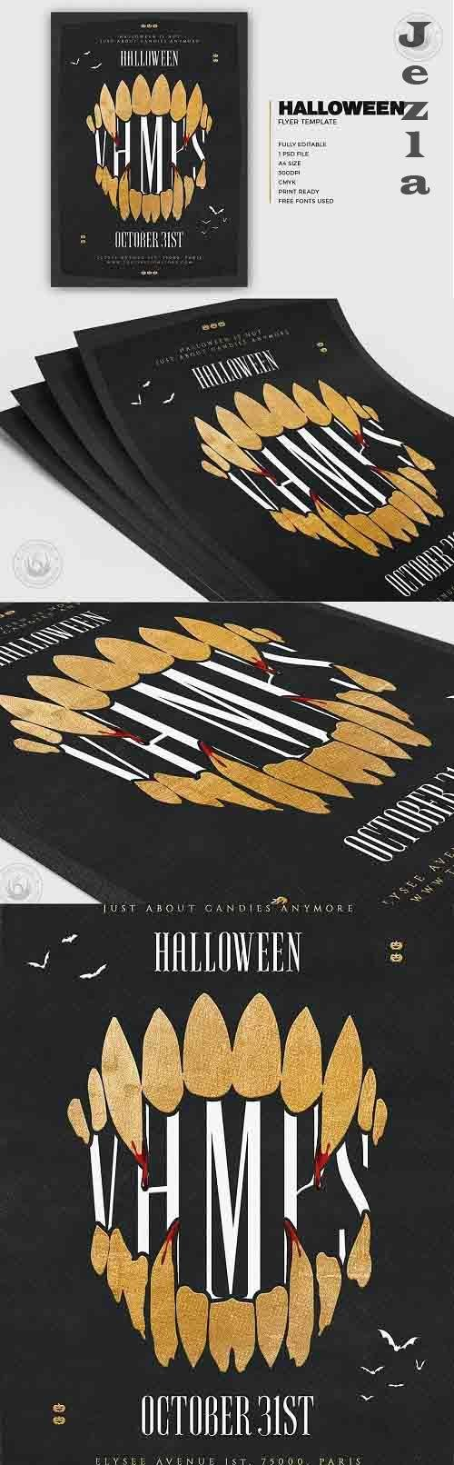 Halloween Flyer Template V28 - 5274284