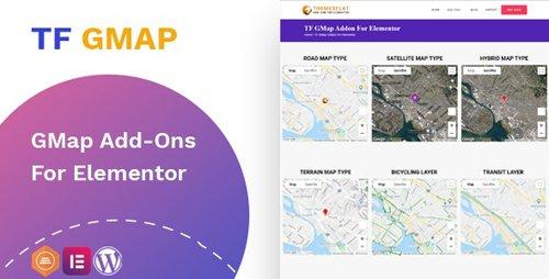 CodeCanyon - Google Maps addon v1.0.0 - widget for Elementor - 28002931