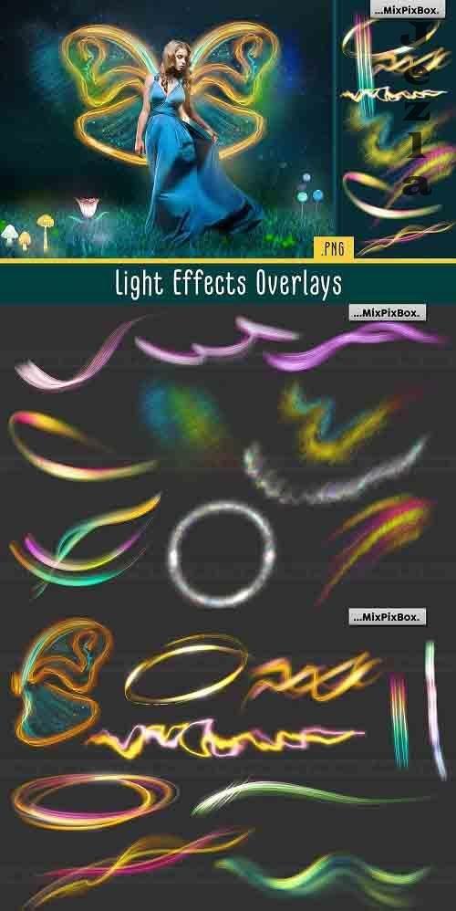 Light Effects Overlays - 5219733