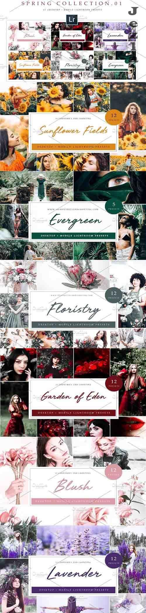 Spring Collection LRM Presets 4795125