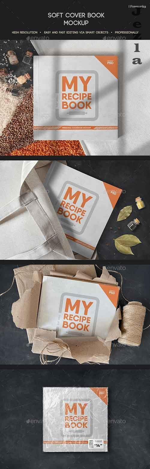 Soft Cover Book Mockup - 27011971