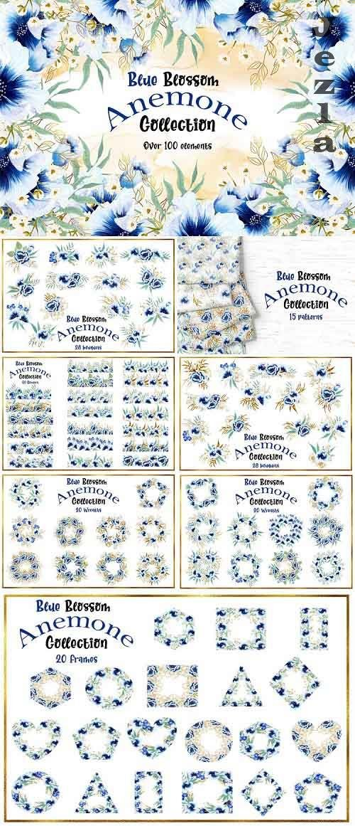 Blue Blossom Anemone Collection - 776601