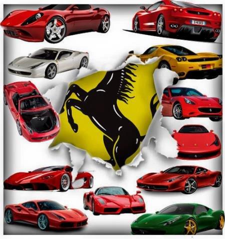 Png без фона - Ferrari