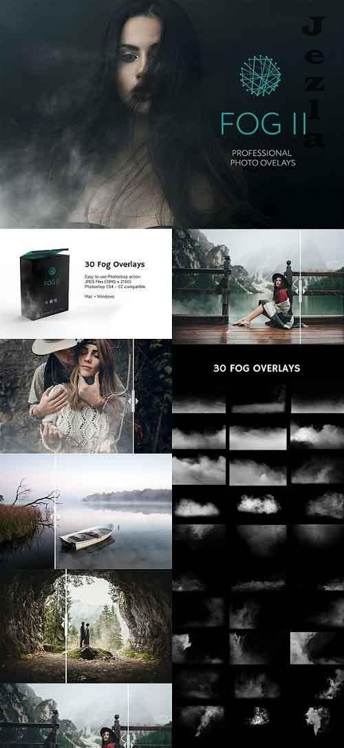 30 Fog Photo Overlays 2.0 27028166