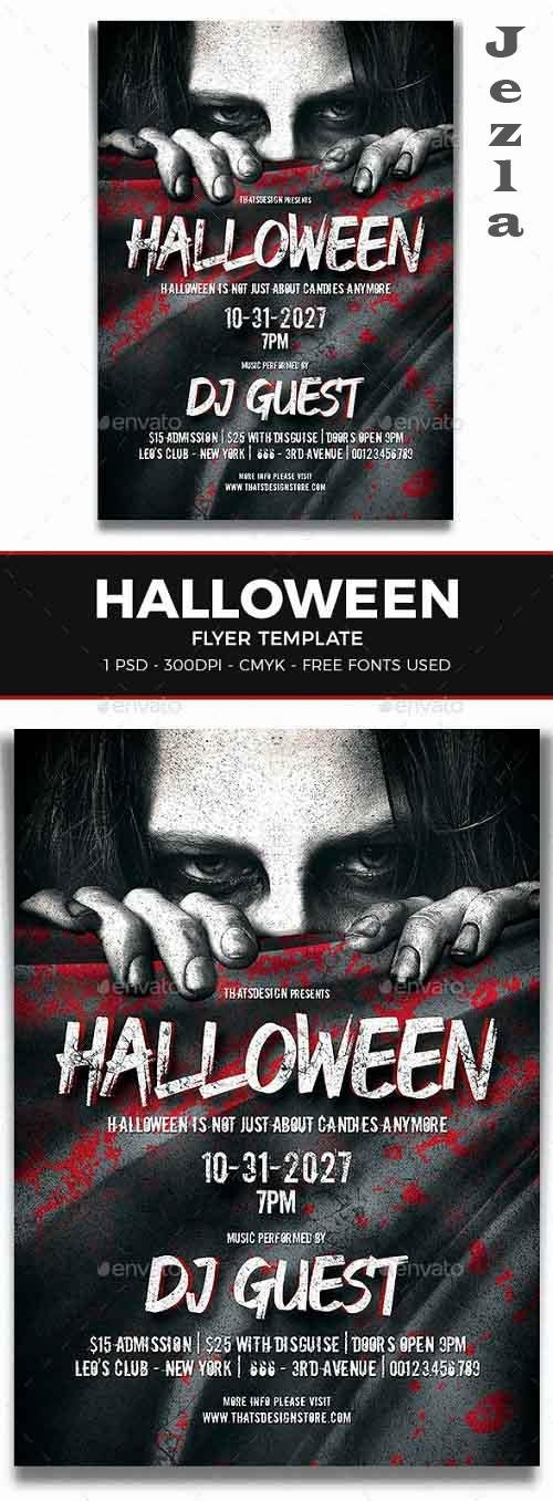 Halloween Flyer Template V5 - 8546869 - 91522