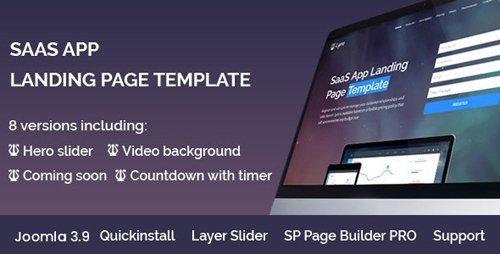 ThemeForest - Lyra v2.0 - SaaS App Landing Page Joomla Template (Update: 6 August 20) - 19909055