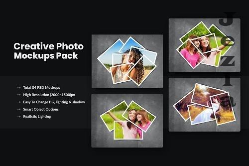 Creative Photo Frame Mockups