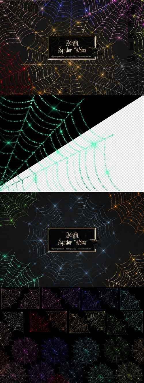 Bokeh Spider Webs - 5298454