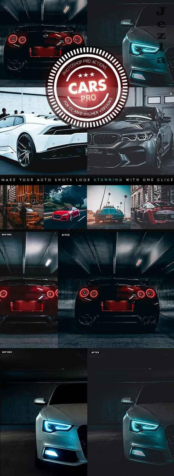 PRO Cars Photoshop Actions 26656106