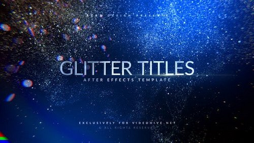 Awards Titles | Glitter - Project for After Effects (Videohive)