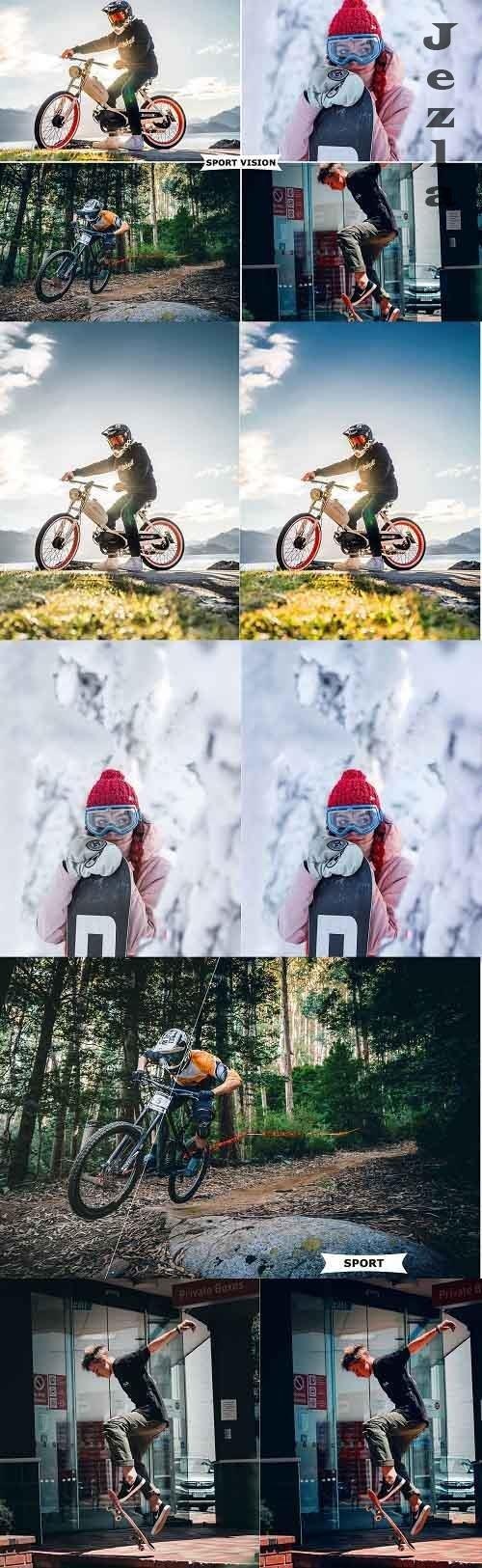 Sport Vision Photoshop Action 4991924