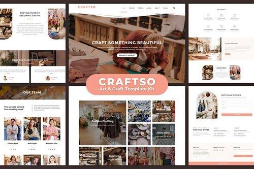 ThemeForest - Craftso v1.0 - Crafting Elementor Template Kit - 27701403