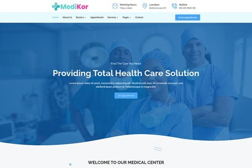 ThemeForest - Medikor v1.0 - Medical Healthcare Elementor Template Kit - 28110104