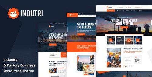 ThemeForest - Indutri v1.0.1 - Factory & Industrial WordPress Theme - 27818145