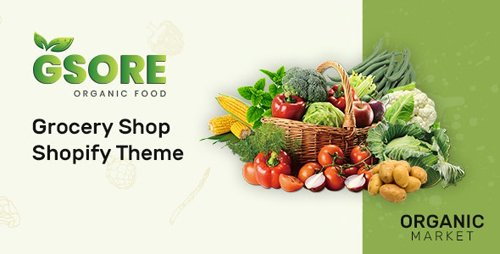 ThemeForest - Gsore v1.0.0 - Grocery and Organic Food Shop Shopify Theme - 28015217