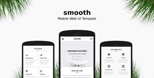 ThemeForest - Smooth v1.0 - Mobile Web UI Template - 21252266