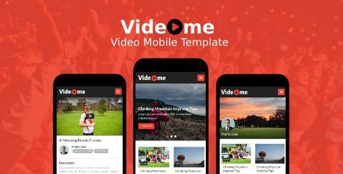 ThemeForest - Videome v1.0 - Video Mobile Template - 19647011