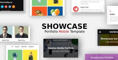 ThemeForest - Showcase v1.0 - Portfolio Mobile Template - 21771582