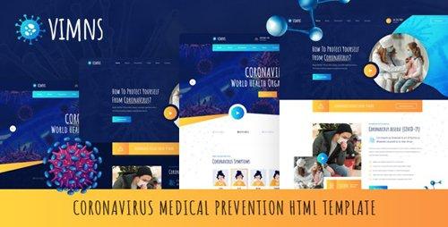 ThemeForest - Vimns v1.0.0 - Coronavirus Medical Prevention HTML Template (Update: 25 April 20) - 26186542