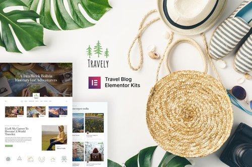 ThemeForest - Travely v1.0 - Travel Blog Template Kit - 28186897