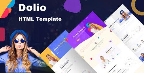 ThemeForest - Dolio v1.0 - Personal Portfolio Template - 27544710