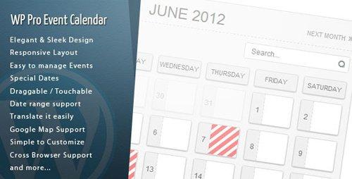 CodeCanyon - WordPress Pro Event Calendar v3.2.3 - 2485867