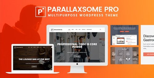 ThemeForest - ParallaxSome Pro v1.0.7 - Multipurpose WordPress Theme - 20033554