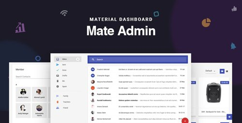 ThemeForest - Mate v2.0 - React Admin Template With Redux & Material Design (Update: 8 July 20) - 21234776