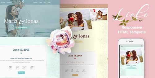 ThemeForest - Liebe v1.0 - Responsive HTML Wedding Template (Update: 12 February 20) - 19730299