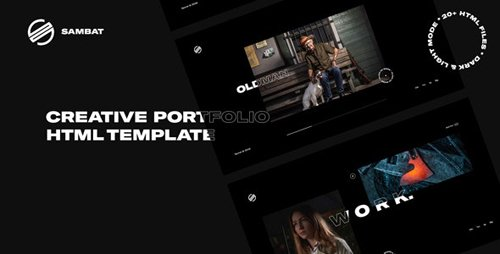 ThemeForest - Sambat v1.0 - Creative Digital Portfolio HTML Template - 24568878