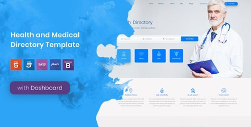 ThemeForest - Tabib v1.0 - Health and Medical Directory Template - 21666238