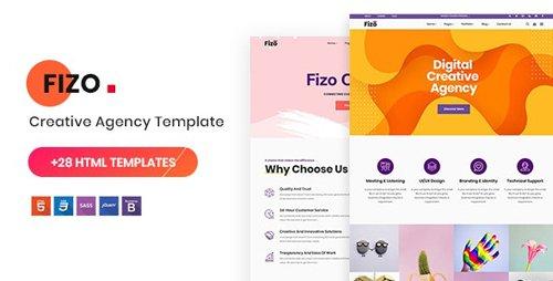 ThemeForest - Fizo v1.0 - Creative MultiPurpose HTML5 Template - 23392955