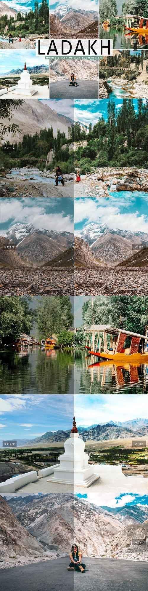 Ladakh Pro Lightroom Presets - 5333639 - Mobile & Desktop