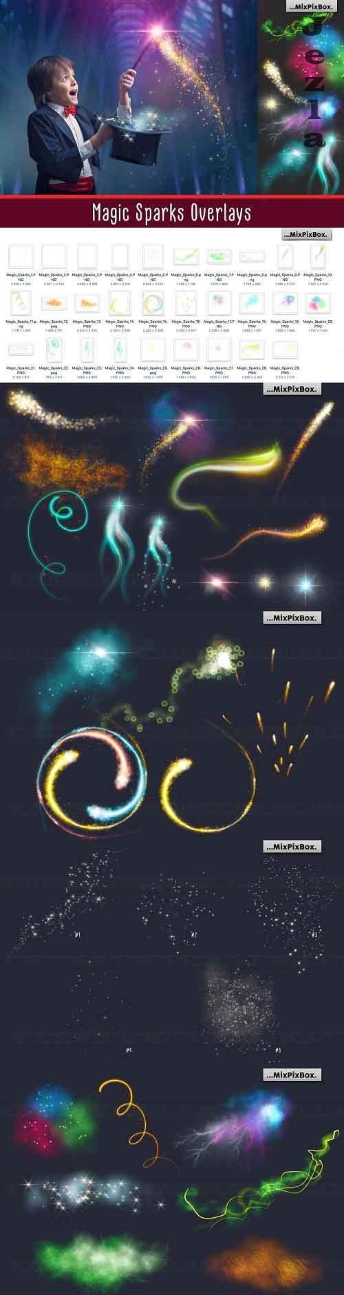 Magic Sparks Overlays - 5326473