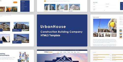 ThemeForest - UrbanHouse v1.0 - Construction Renovation HTML5 Template + SASS - 20731829
