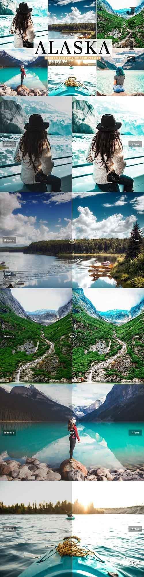 Alaska Pro Lightroom Presets - 5333858 - Mobile & Desktop