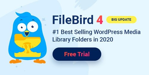 CodeCanyon - FileBird v4.0.6 - WordPress Media Library Folders - 21715379