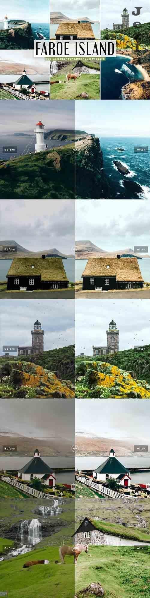 Faroe Island Pro Lightroom Presets - 5336449 - Mobile & Desktop