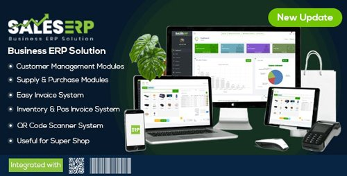 CodeCanyon - ERP v9.6 - Business ERP Solution / Product / Shop / Company Management (Update: 20 August 20) - 19314578 - NULLED