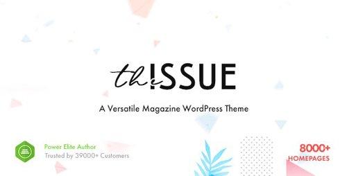 ThemeForest - The Issue v1.5.2 - Versatile Magazine WordPress Theme - 23448818 - NULLED
