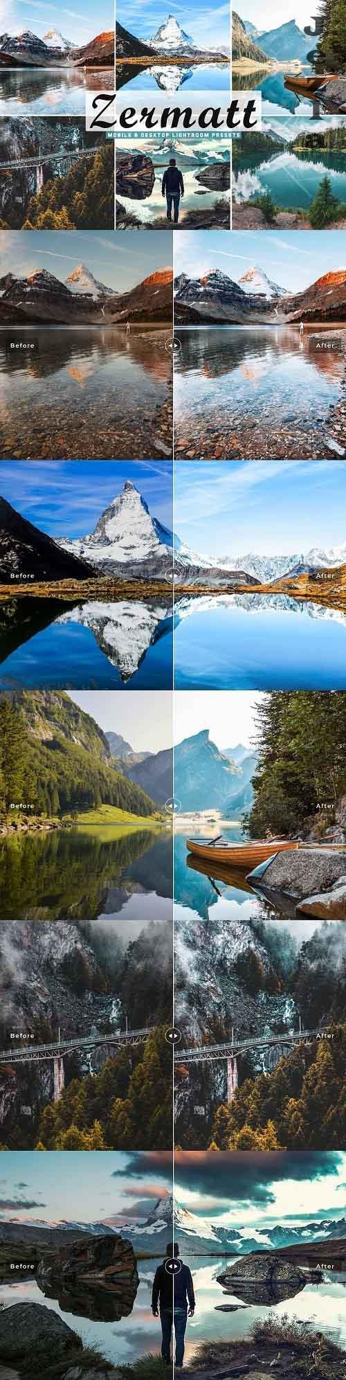 Zermatt Pro Lightroom Presets - 5339739 - Mobile & Desktop