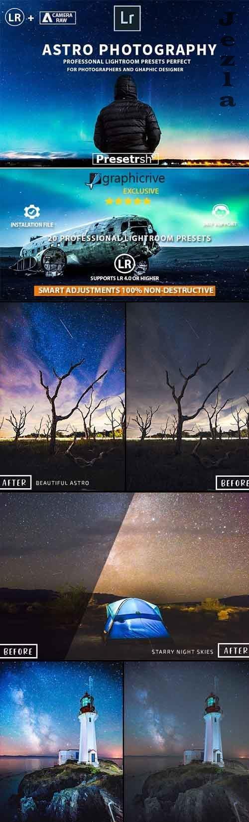 20 Pro Astrophotography Lightroom Presets 21421453