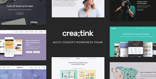 ThemeForest - Creatink v1.0.9 - Multi-Concept Responsive WordPress Theme - 21322144